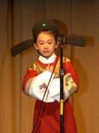 Young actress for traditional opera play