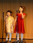 Amazing young sibling vocalists